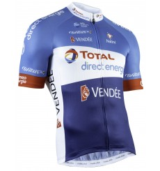 TOTAL DIRECT ENERGIE maillot vélo manches courtes 2019