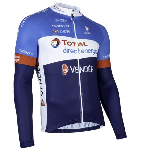 TOTAL DIRECT ENERGIE long sleeve jersey 2019