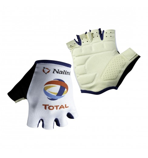 TOTAL DIRECT ENERGIE summer cycling gloves 2019