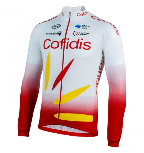 COFIDIS maillot manches longues 2019