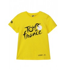 TOUR DE FRANCE t-shirt enfant Logo Leader jaune 2019
