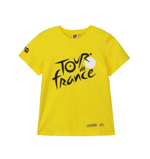 TOUR DE FRANCE t-shirt enfant Logo Leader jaune 2019