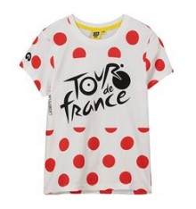 TOUR DE FRANCE t-shirt enfant Logo à pois 2019