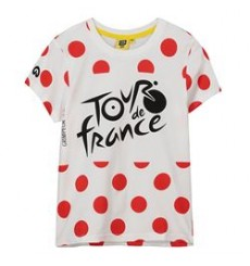 TOUR DE FRANCE t-shirt enfant Logo à pois 2019
