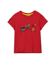Tour de France Dragon red kids' T-Shirt 2019