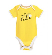 TOUR DE FRANCE official yellow baby bodysuit