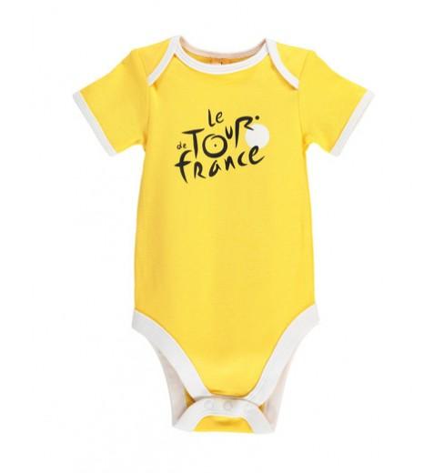 TOUR DE FRANCE official yellow baby bodysuit