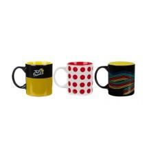 TOUR DE FRANCE set 3 mugs 2019
