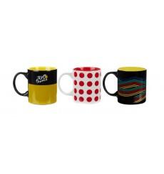 TOUR DE FRANCE 3 mugs set 2019