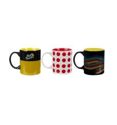TOUR DE FRANCE set 3 mugs 2019