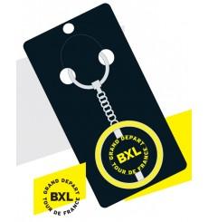 TOUR DE FRANCE Grand Départ Brussels official key ring