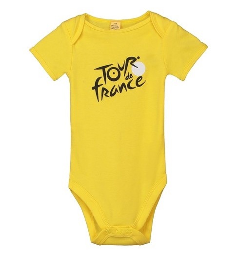 TOUR DE FRANCE official yellow baby bodysuit 2019