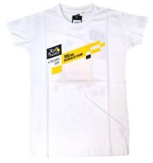 TOUR DE FRANCE white Parcours t-shirt 2019