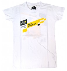 TOUR DE FRANCE white Parcours t-shirt 2019