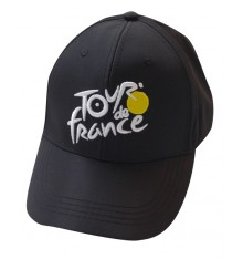 Tour de France Official Fan Black Cap 2019