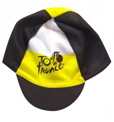 TOUR DE FRANCE black cycling cap 2019