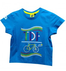 Tour de France Graphic blue kids' T-Shirt 2019