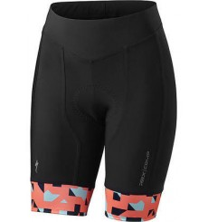 SPECIALIZED women's RBX Comp black pink cycling shorts 2018