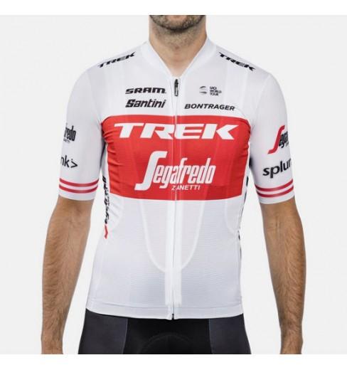 TREK SEGAFREDO Replica white Tour de France short sleeve jersey 2019