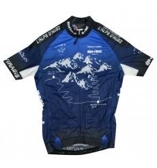 ALPE D HUEZ maillot de vélo de route homme Bleu 2019