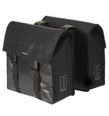 BASIL Urban Load double bag - 53 liter - black