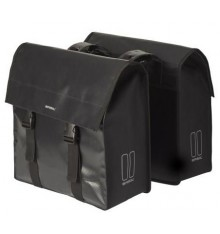 BASIL Urban Load double bag - 53 liter - black