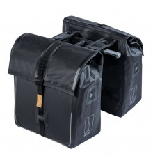 BASIL Urban Dry – double bag MIK – 50 liter - black