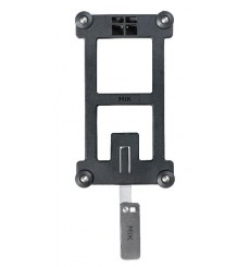 MIK adapter plate - black