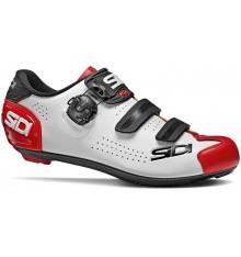 Chaussures vélo route homme SIDI ALBA 2 blanc / noir / rouge 2021