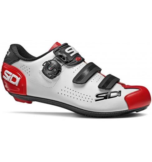 SIDI Alba 2 white / black / red mens' road cycling shoes 2021