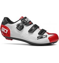 Chaussures vélo route homme SIDI ALBA 2 blanc / noir / rouge 2020