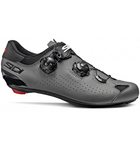 SIDI Genius 10 black / grey road cycling shoes 2021