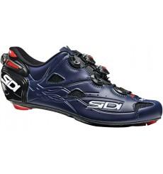 Chaussures vélo route SIDI SHOT carbon noir / bleu mat 2020