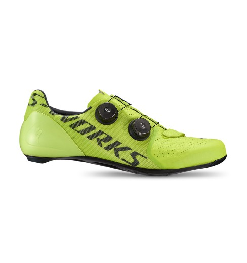 SPECIALIZED chaussures vélo route S-Works 7 jaune hyper 2020