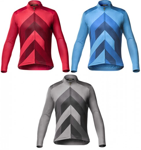 Maillot cycliste manches longues homme MAVIC Cosmic Graphic 2020