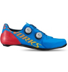 SPECIALIZED S-Works 7 BASICS blue road cycling shoes 2020