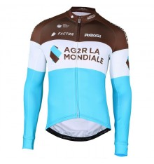 AG2R LA MONDIALE long sleeve cycling jersey 2018