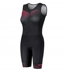 SCOTT combinaison  triathlon femme avec chamois Plasma SD 2020