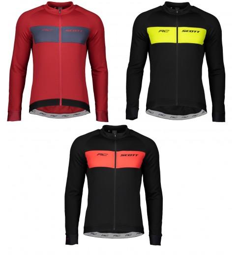 SCOTT RC WARM men's long sleeve cycling jersey 2020