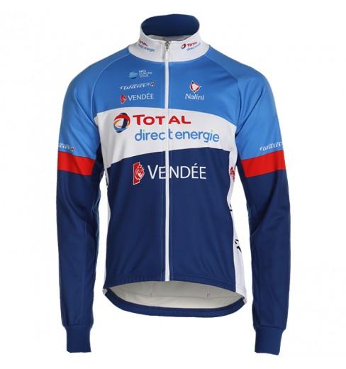 Veste cycliste hiver TOTAL DIRECT ENERGIE 2019