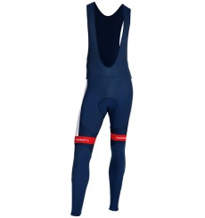 TOTAL DIRECT ENERGIE winter cycling bib tights 2019