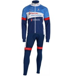 Tenue cycliste hiver TOTAL DIRECT ENERGIE 2019