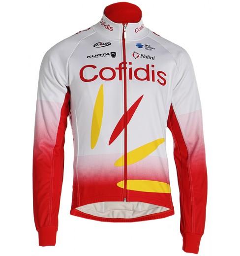 Veste cycliste hiver COFIDIS 2019