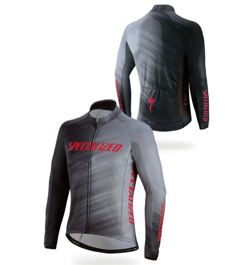 Maillot manches longues cycliste hiver SPECIALIZED Therminal RBX Comp Faze 2019