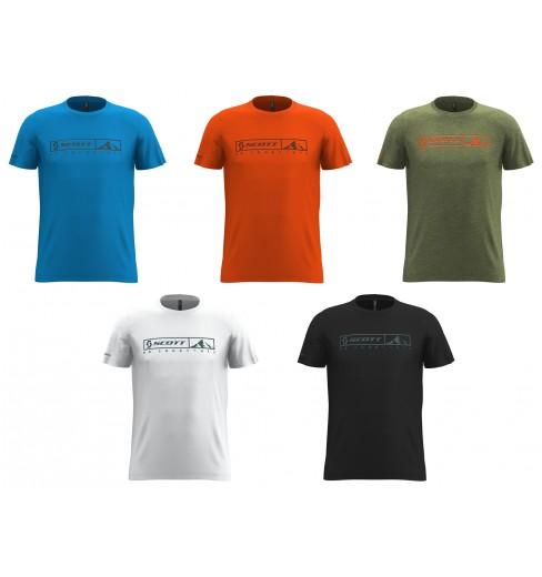 SCOTT t-shirt manches courtes homme 10 NO SHORTCUTS 2020