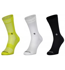 SCOTT Performance Crew cycling socks 2022