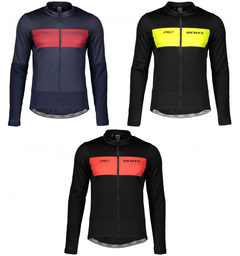 SCOTT WARM Hybrid WB men's winter cycling jacket 2020