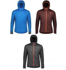 SCOTT veste à capuche cycliste hiver homme TRAIL Fleece 2020