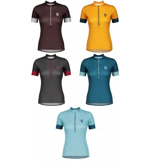 Green Scott Endurance 30 Short Sleeve Womens Cycling Jersey