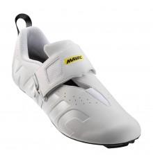 MAVIC Cosmic Elite Tri white triathlon shoes 2019